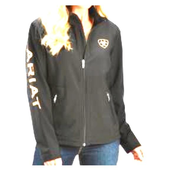 9213eff7d Ariat Team Softshell Jacket Black